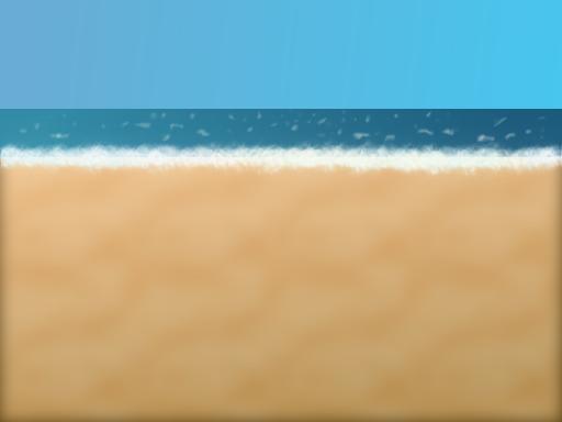 Doodle of a seashore - created with Seashore